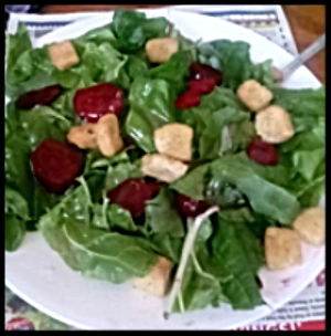 A salad made by Rosemead High School Student Elizabeth