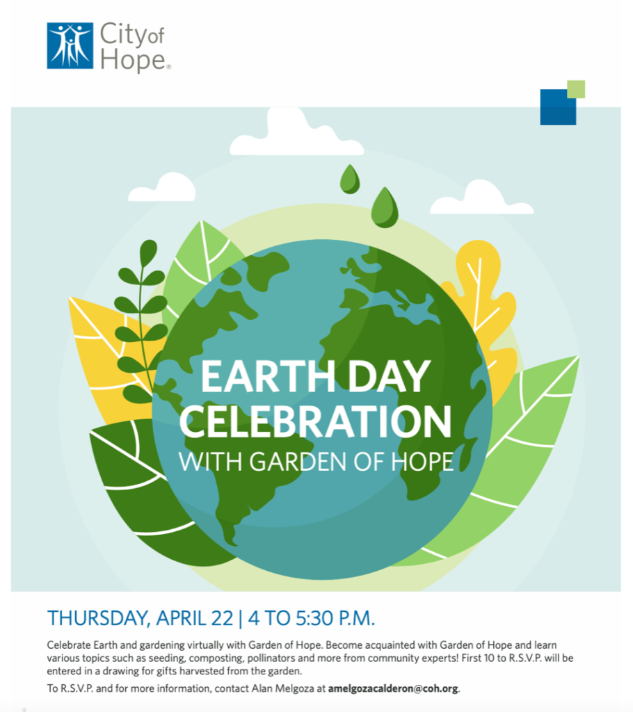 Earth Day Celebration with Garden of Hope