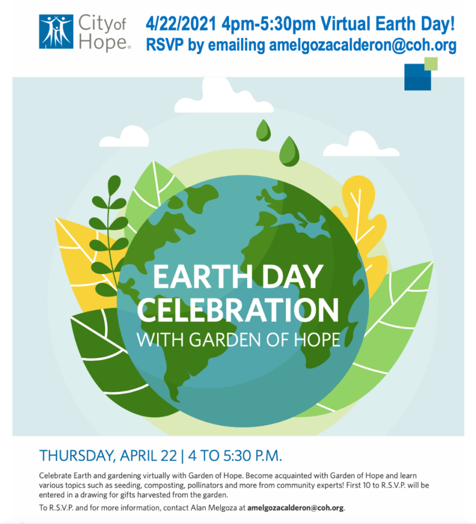 Earth Day Event with the Garden of Hope